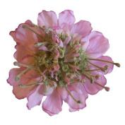 Scabiosa Artificial Flower Hair Clip/Pin Brooch