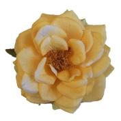 Orlane Rose Artificial Flower Hair Clip/Pin Brooch