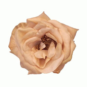 Julia Rose Artificial Flower Hair Clip/Pin Brooch