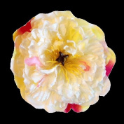 New Peony Artificial Flower Hair Clip/Pin Brooch