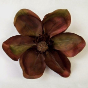 New Large Magnolia Artificial Flower Hair Clip/Pin Brooch