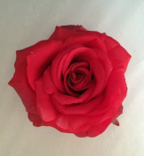 Elisabeth Rose Artificial Flower Hair Clip/Pin Brooch