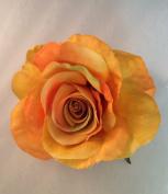 New Open Rose Artificial Flower Hair Clip/Pin Brooch
