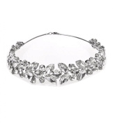Wiipu Sparkly Crystal Rhinestone Crown Tiara Wedding Prom Bride's Headband