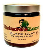 NATURE'S ZERO All-Natural, Handcrafted 120ml Black Clay
