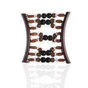 Hairzing Tribal Essential Plastic- Brown- Large - The Patented Original