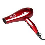 MHD(TM) Professional Hair Dryer 1875W Ceramic Lonic Fast Heat Speed Blow Dryer Red