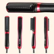 Raphycool Tourmalin Ceramic Hair Straigntening Comb Magic Home and Daily Self Hair Styling Tool