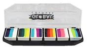 Global Body Art Face Paint - FunStroke Palette Rainbow Burst