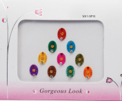 Fancy Pretty Designer Oval Large Size Bindis