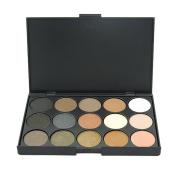 UCANBE 15 Earth Colour Glitter Eyeshadow Palette
