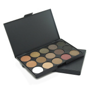 UCANBE 15 Earth Colour Matte Pigment Eyeshadow Palette