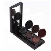 XX Shop 3 colours Waterproof Eye Liner Gel Eyeliner with brush