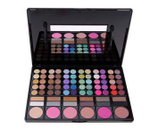 ShineMoreProfessional 78 Colours Eyeshadow Combination Pallet Eye Shadow Palette Cosmetic Makeup Kit Set with Blush, Highlighters and Liner Shades