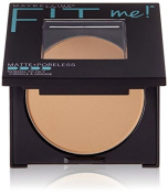 Maybelline New York Fit Me Matte Plus Poreless Powder, Toffee, 10ml