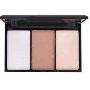 XX Shop 3 colours Flat Contour High light shadow combination Repair Capacity powder Makeup Palette for Girls