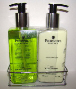 Pecksniffs Lily & Cottonseed Hand Wash and Body Lotion Set
