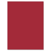 Construction Paper, 23cm x 30cm , 50/PK, Holiday Red - 22327