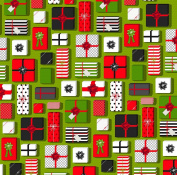 American Crafts Deck The Halls Christmas Morning Christmas Scrapbook Paper