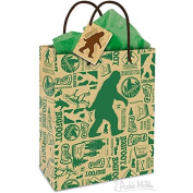 Archie Mcphee Big Foot All Occassion Small Gift Bag