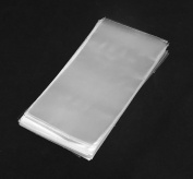 100 Clear Flat Cello/cellophane Treat Bags 8.9cm X 15cm