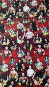 WWE Wrapping Paper Christmas Gift Wrap