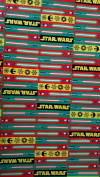 Star Wars Wrapping Paper Lightsaber Christmas Gift Wrap