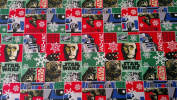 Star Wars Wrapping Paper Droid Christmas Gift Wrap