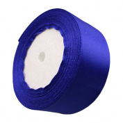 4.1cm 24-Yard Decorative Coloured Ribbon String for Gift Wrap Crafts Price Tags DIY Works Royal Blue