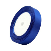 2cm 24-Yard Decorative Coloured Ribbon String for Gift Wrap Crafts Price Tags DIY Works Royal Blue