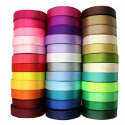 2cm 24-Yard Decorative Coloured Ribbon String for Gift Wrap Crafts Price Tags DIY Works Random Colour