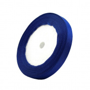 1cm 24-Yard Decorative Coloured Ribbon String for Gift Wrap Crafts Price Tags DIY Works Royal Blue