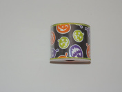 CelebrateIt Pumpkin Pattern Wire-Edged 6.4cm . x 2.7m 100% Polyester Ribbon - Great for Any Occasion!