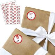 Santa Special Delivery - Small Round From