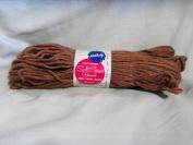 Red Brown Kentucky Soft Spun Yarn 75% Rayon 25% Cotton No. 651 Red Brown