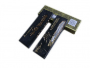Hukaiwen Ink Block Handmade Fine Lacquer Smoke Ink Stick for Chinese Traditional Calligraphy and Painting CdqShyn 62g
