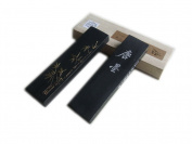 Hukaiwen Ink Block Handmade Fine Oil Smoke Ink Stick for Chinese Traditional Calligraphy and Painting Tangmo 31g