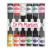 Dr. Ph. Martin's Spectralite Private Collection Liquid Acrylics Bottles, 15ml, Set of 12
