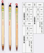 S M L 3pcs Changfeng Langhao Wolf Hair Zhouhuchen Tiger Chinese Calligraphy Painting Brush