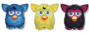3 x Furby Shaped Foil Balloons - One of Each Design