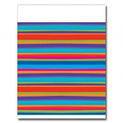 Birthday Stripes Tablecover - 2 pack