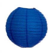 Ocean Blue 46cm Paper Lanterns - Set of 2