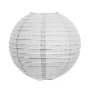 White 36cm Paper Lanterns - Set of 2