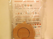 Chipboard Decorating Set