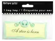 Westrim Paper Bliss Bag Tag - A Star is Born - 6 Pack