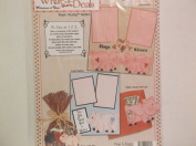 Windows of Time What-a-deal *Hogs & Kisses* Paper Piecing Pattern