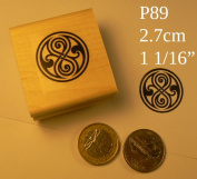 P89 Time Lord Dr. Who rubber stamp