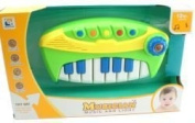 Baby Piano Organ Music Toy Electric Light And Sound Toy
