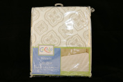 Cocalo Valencia Crib Fitted Sheet - Infant Nursery Crib Bedding Baby Crib Sheet