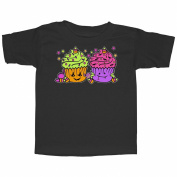 Lost Gods Halloween Cupcakes Toddler Graphic T Shirt - Lost Gods